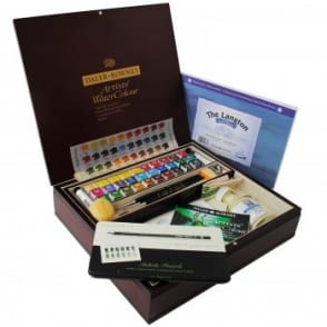 Artist's Water Colour Wooden Box Set