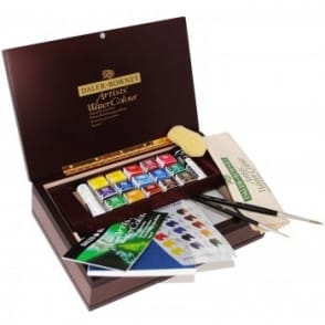 Artists' Watercolour Luxury Wooden Box