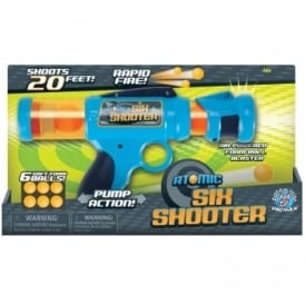 Atomic Six Shooter Power Popper