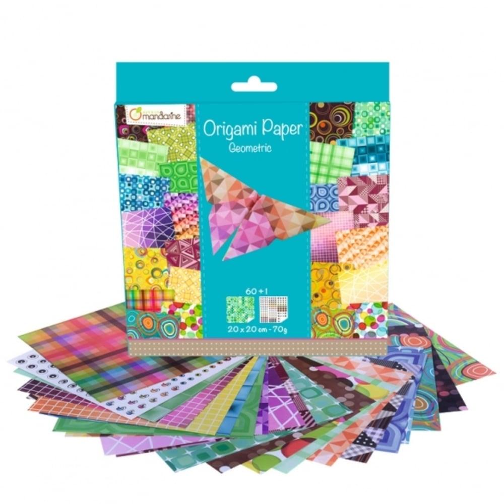 Avenue Mandarine Geometric Origami Papers Craftyarts