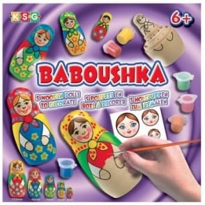 Baboushka Russian Doll Craft Kit