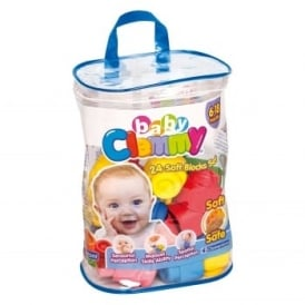 Baby Clemmy 24 Soft Building Blocks*
