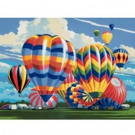Ballooning Large Paint By Numbers