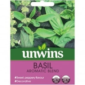 Basil Seeds - Aromatic Blend