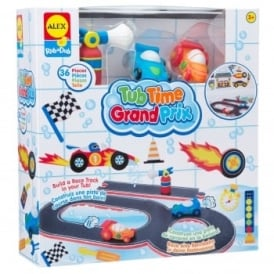 Bath Time Fun Grand Prix Play Set