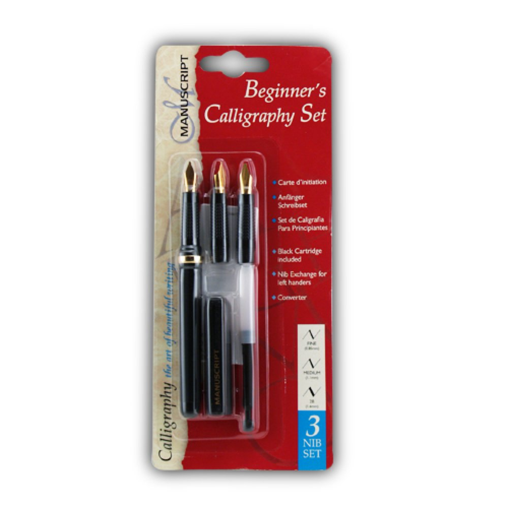 Beginners calligraphy set manuscript from craftyarts