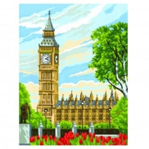 Big Ben Painting By Numbers