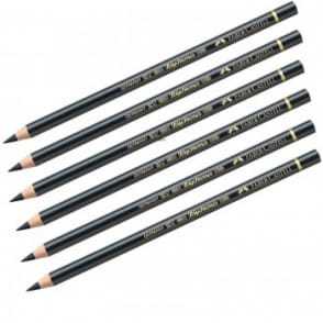 Black Polychromo Pack of 6