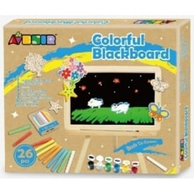 Blackboard & Easel 26 Piece Set