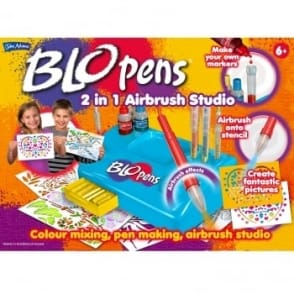 Blo Pens 2 in 1 Airbrush Studio with Pump*