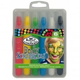 Body Scribblers Bright Coloured Pastel Pens