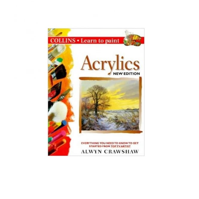 Book: Learn to Paint Acrylics by Alwyn
