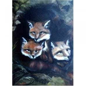 Book: Wildlife Painting Project Pack - Baby Fox