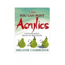 Book: You can Paint Acrylics 1-2-3