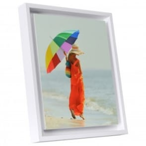 "Boxed Panel White Edged Photo Frame 10 x 12""*"