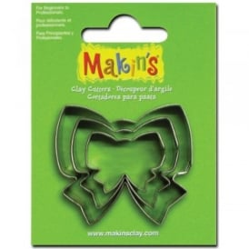 Brand Set of 3 Bow Cutters