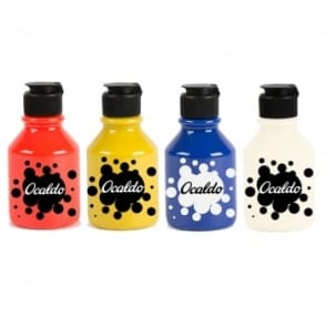 Bright Coloured Readymix Paint Set - 4 x 150ml