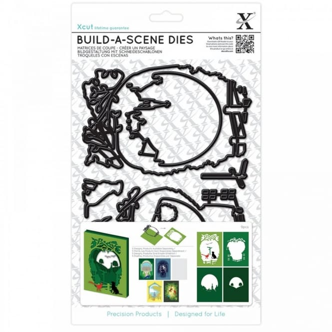 Build A Scene Shadow Box Die Countryside