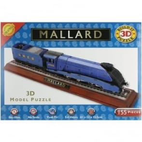Build It 3D Mallard Train Puzzle