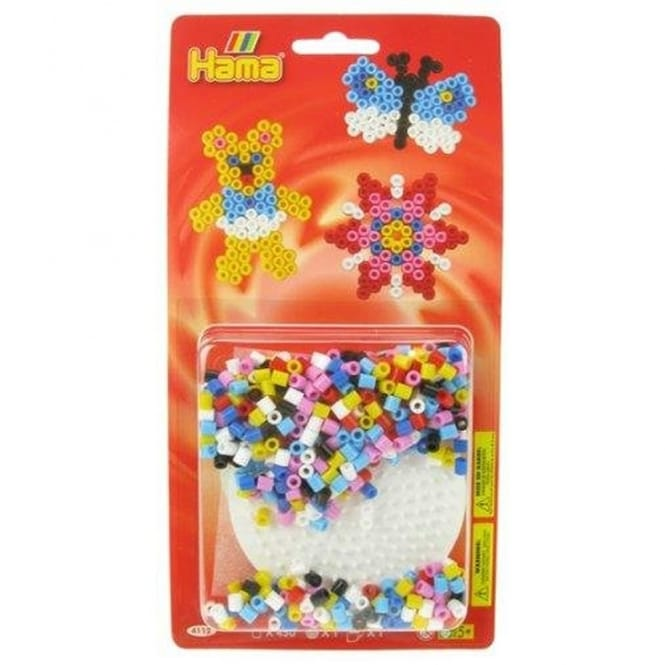 Butterfly Bead Pack - Red