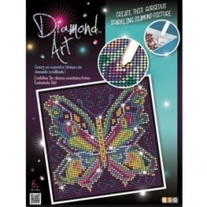 Butterfly Diamond Art Kit