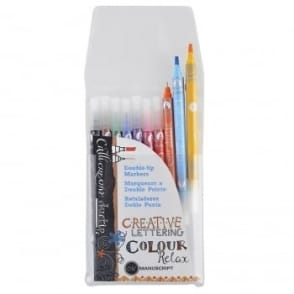 Callicreative Duo Tipped Markers 10 Assorted Colours