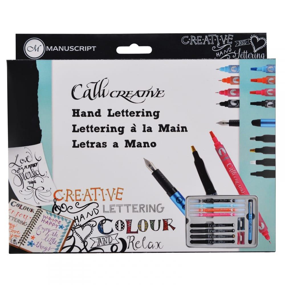 Callicreative Hand Lettering Set Craftyarts Co Uk
