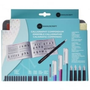 Calligraphy Fountain Pen Compendium Set