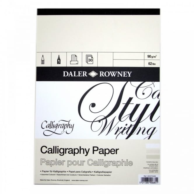Calligraphy Pad A3