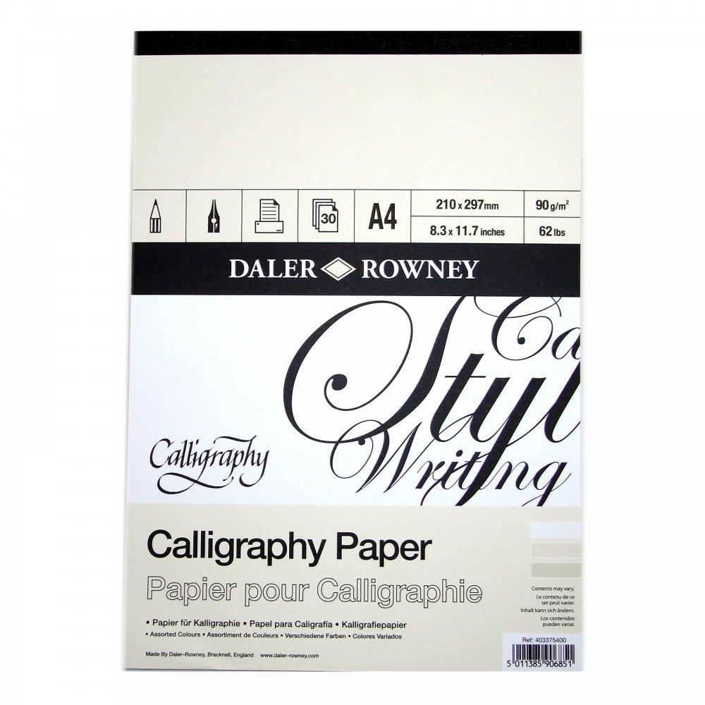 Calligraphy pad a craftyarts