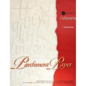 Calligraphy Parchment Paper 36 sheets
