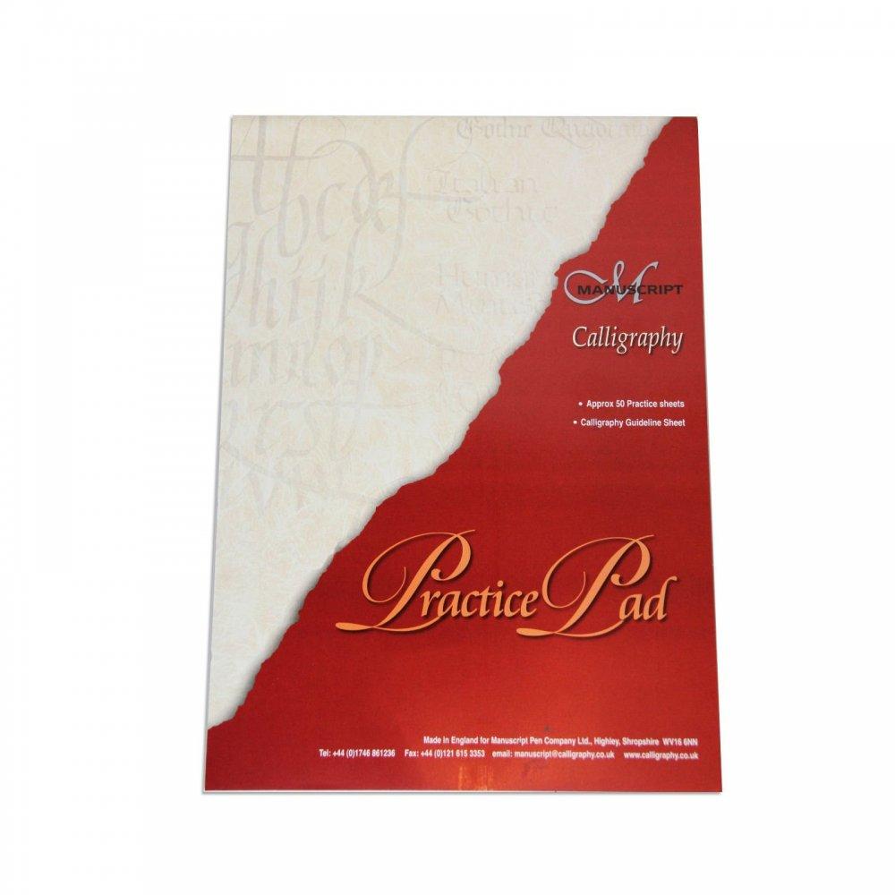 Calligraphy Practice Pad Manuscript From Uk