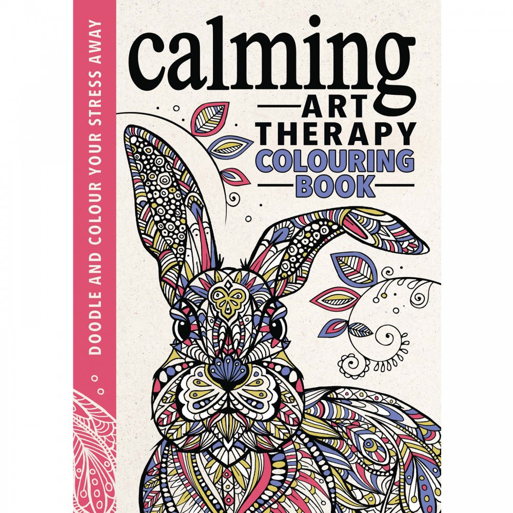 Color Therapy For Your Home: Calming Art Therapy Colouring Book
