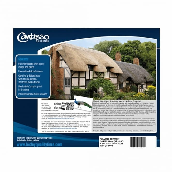Cantisso Collection Creative Tutorial Paint Set -Classic Cottage