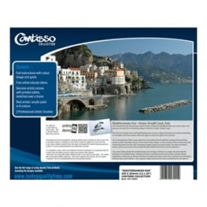 Cantisso Collection Creative Tutorial Paint Set - Mediterranean Sun