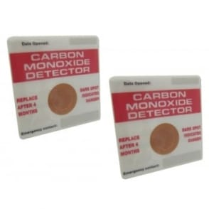 Carbon Monoxide Detectors - Twin Pack