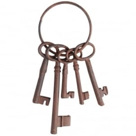 Cast Iron Keys Set