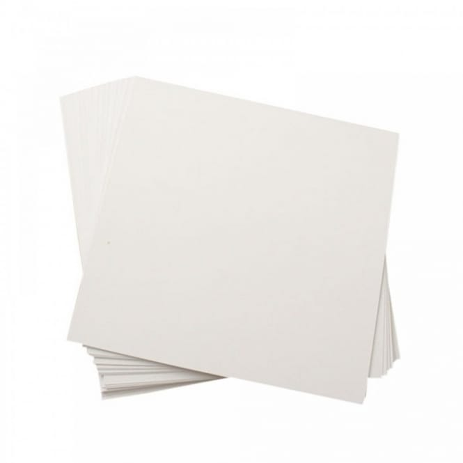 "Centura Pearl Card - Snow White - 16"" x 16"" 25 Pack"