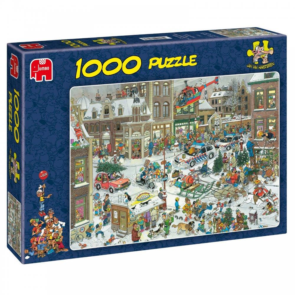 christmas 1000 piece puzzle jumbo from craftyartscouk uk