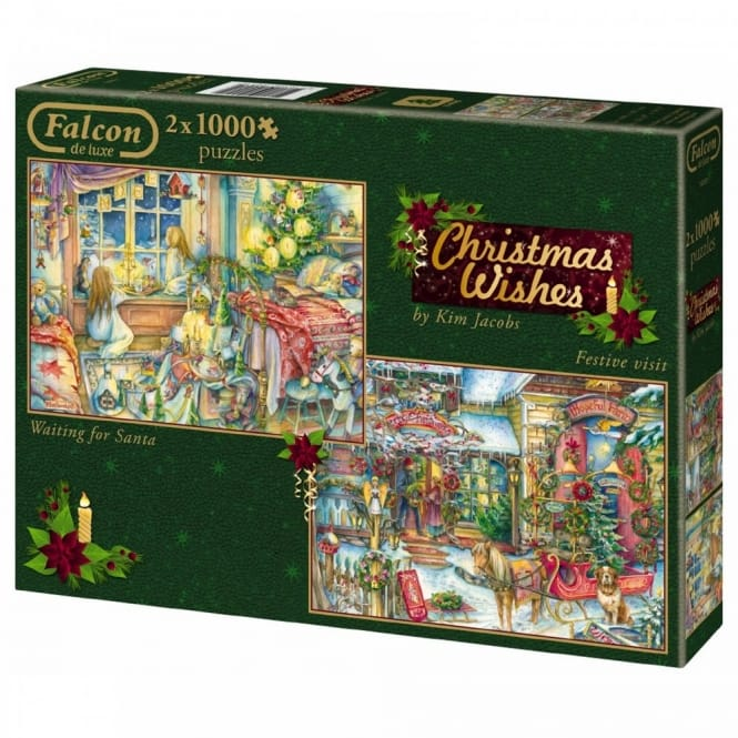 Christmas Collection Christmas Wishes - 2 x 1000 Piece Puzzles*