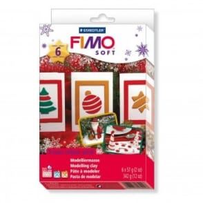 Christmas Colour Pack and Moulds Soft Modelling Clay