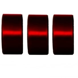Claret Wide Ribbon 3 Pack Bundle