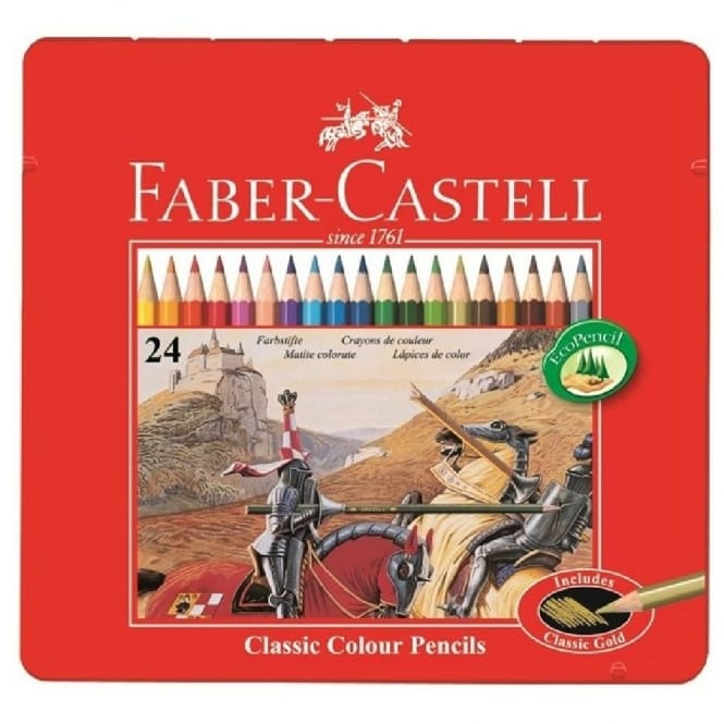 Classic Colour Pencils set of 24