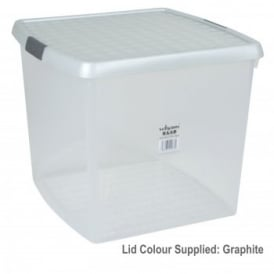 Clear Clip Storage Box 14 litre