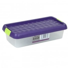 Clear Clip Storage Box 800ml