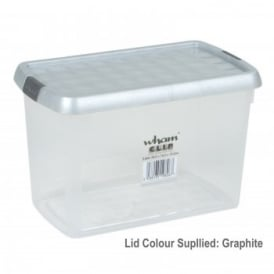 Clear Clip Storage Box 850ml