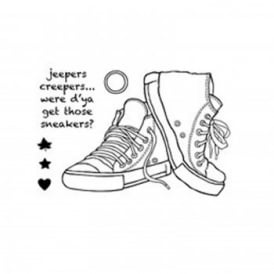 Clear Magic Sneakers Stamp