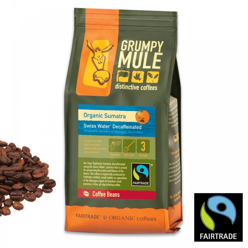 Fair trade farming is best for coffee bean produce royalty-free stock photo