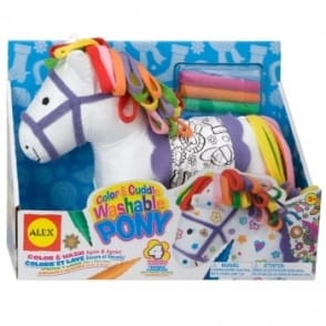 Colour and Cuddle A Washable Pony