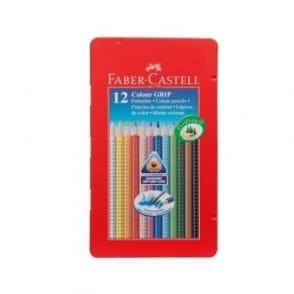 Colour Grip Watercolour Pencils Tin of 12